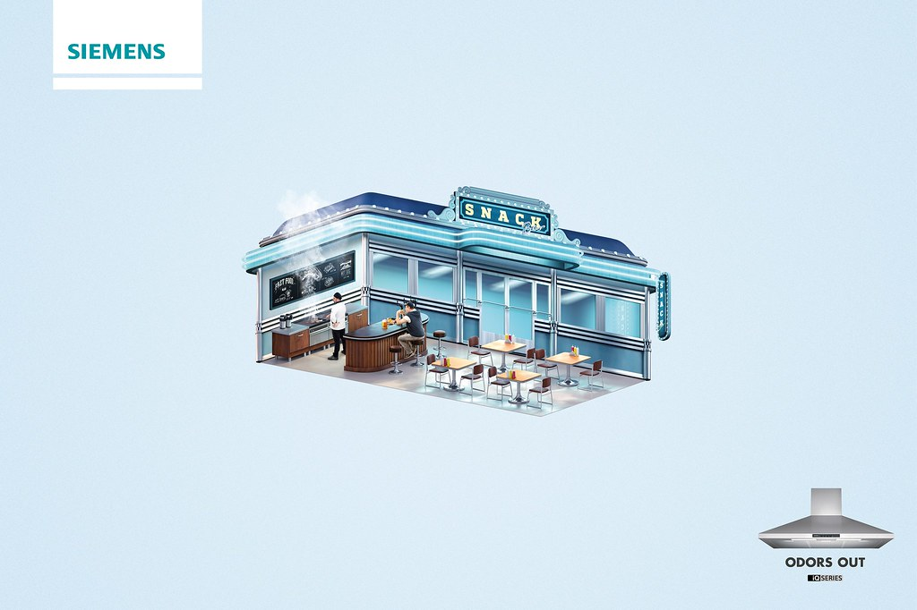 Siemens - Odors Out Diner