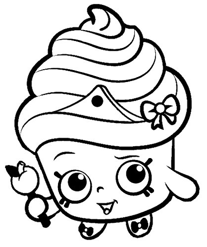 shopkins coloring pages lippy lipstick - photo#20