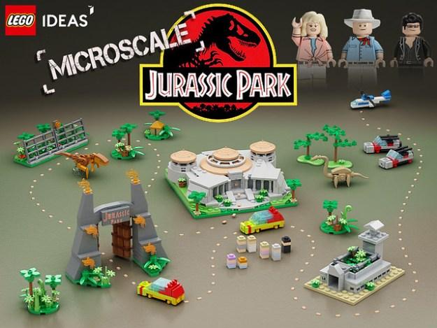 Lego Ideas   Micro Jurassic Park
