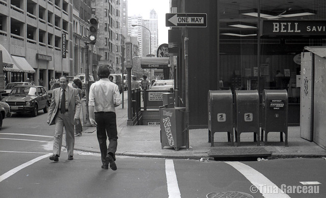 15th and Locust Streets circa 1981