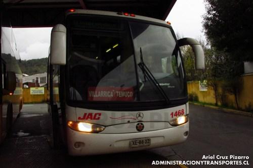 JAC - Temuco - Marcopolo Andare Class / Mercedes Benz (XE8632)