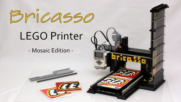 Bricasso - LEGO Mosaic Printer