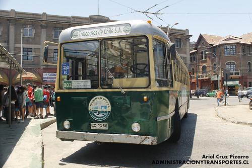 Trolleybuses Valparaíso - Pullman Standard 43-CX (CX2350)