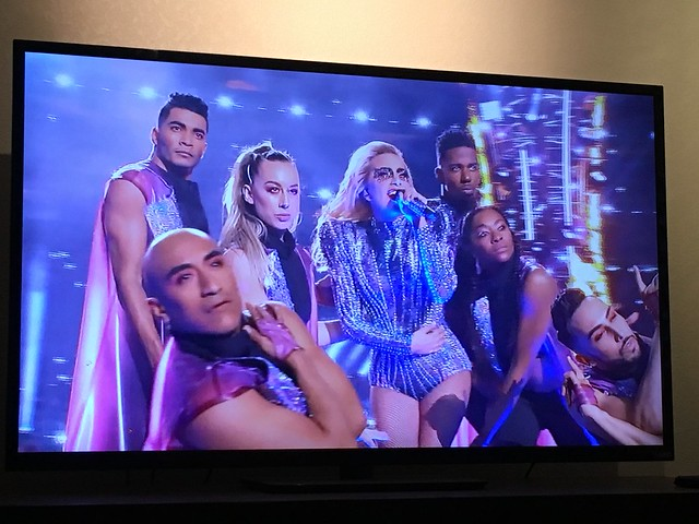 Lady Gaga in da house. Super Bowl LI