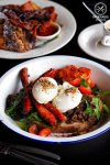 Review of Element 6 in West Ryde - poached eggs, chorizo, kale and spiced lentils