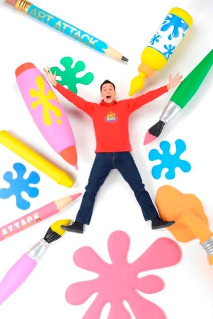Disney's Art Attack - New Host Marco Borromeo (3) - Copy