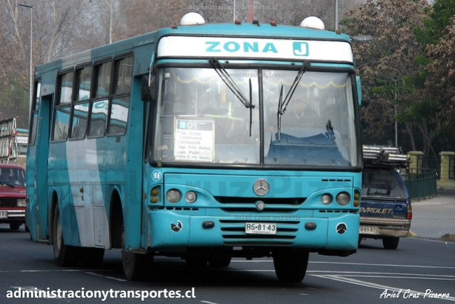 Transantiago J01 | CNM | Caio Alpha - Mercedes Benz / RS8143