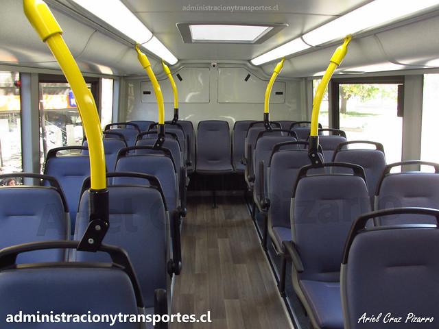 Interior Piso 2 | ADL Enviro 500 / FLXT45