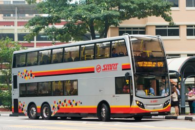 SMRT Bus Service 975 | Public Transport SG