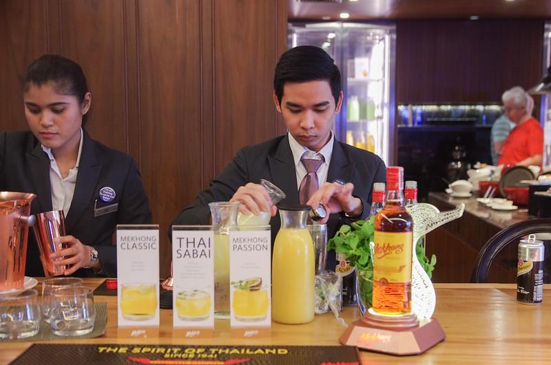 evening cocktails - hilton sukhumvit bangkok