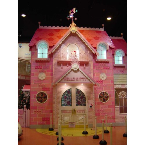 Medium Crop Of Hello Kitty House