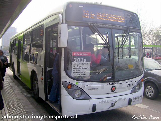 Transantiago 201e | Subus | Marcopolo Gran Viale - Volvo / ZW5070