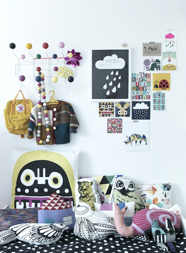 homestilo | kids gallery walls |kids spaces | kids room | childrens design | via style files