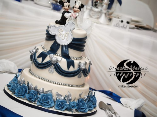 Medium Of Disney Wedding Cake