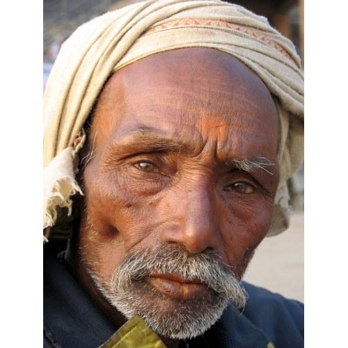 Medium Crop Of Old Man Face