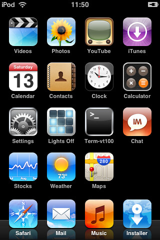 iPod touch Screenshot | Note the multitude of apps and the i… | Flickr