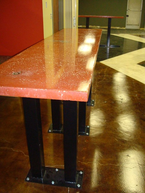 Medium Of Stained Concrete Countertops