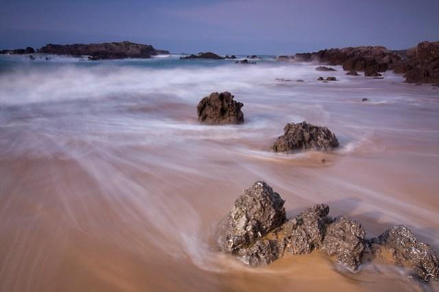 Atardecer en Playa de Ris