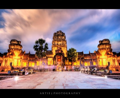 Angkor Wat Lights Up :: HDR | Its been a while since i poppe… | Flickr
