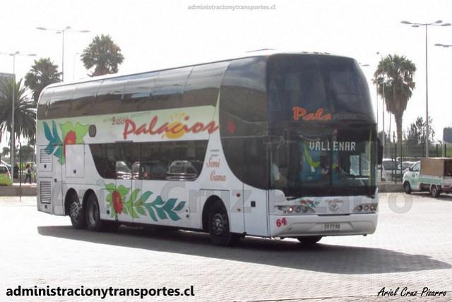 Buses Palacios | Coquimbo | Youngman Skyliner / CVFT53