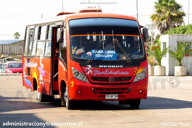 Buses Palacios | Coquimbo | Neobus Thunder - Mercedes Benz / FGHF24