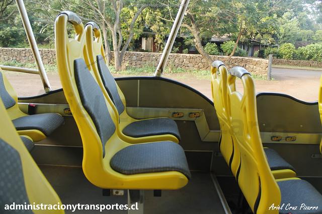 Bus Ara Moai (Maururu Travel) | Interior | Inrecar Géminis - Chevrolet / HJRY62