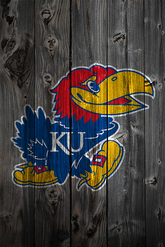 Kansas Jayhawks Wood iPhone 4 Background | Kansas Jayhawks L… | Flickr