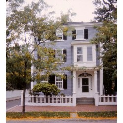 Small Crop Of Federal Style House