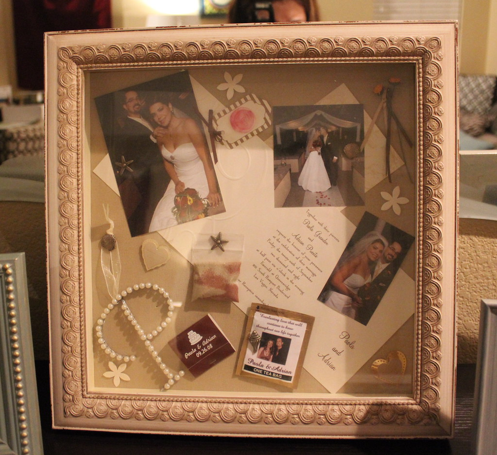 wedding shadow box Wedding shadowbox by doublepeasLV Wedding shadowbox by doublepeasLV