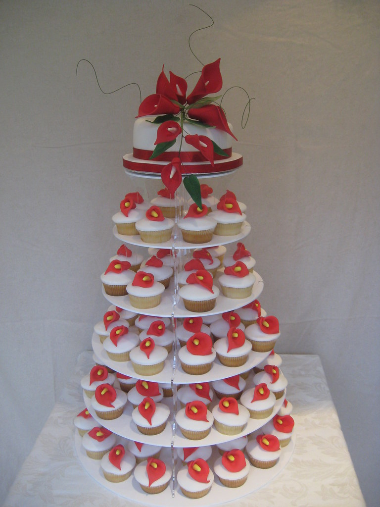 Fullsize Of Cupcake Wedding Cake