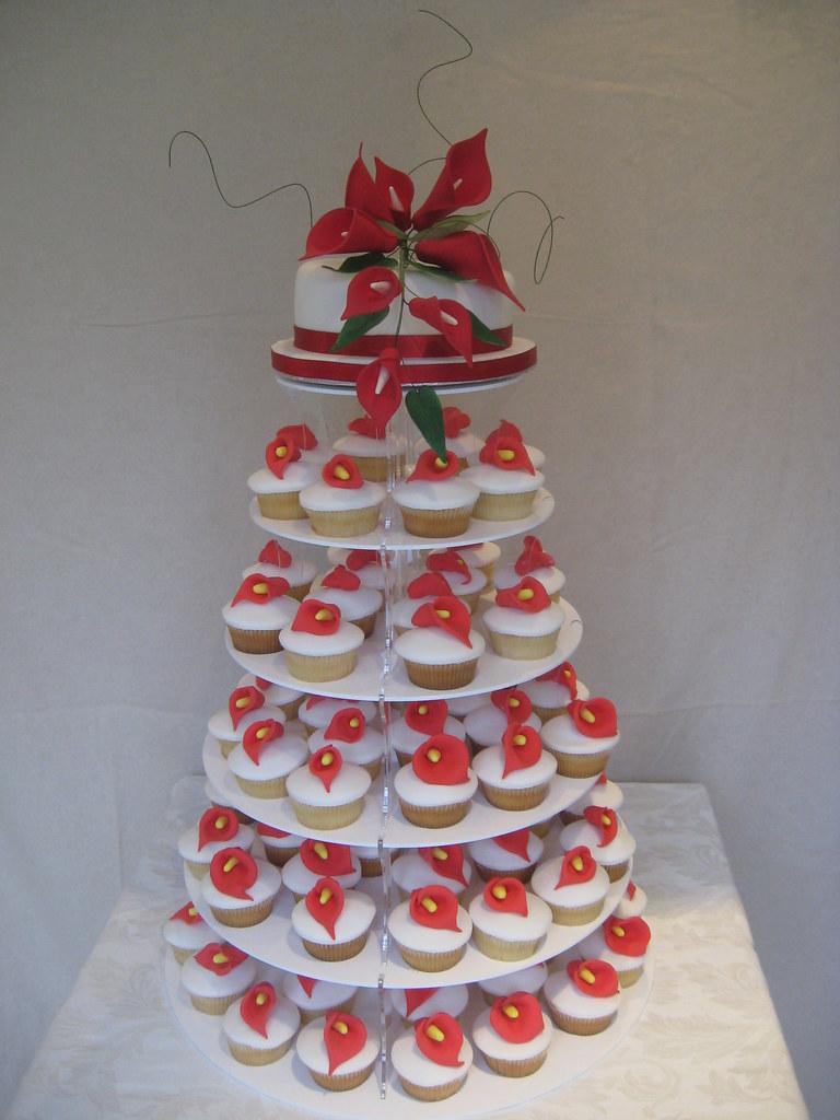 Large Of Cupcake Wedding Cake