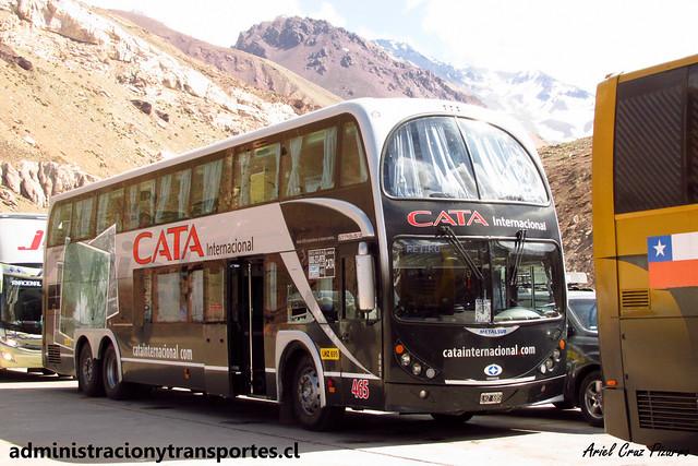 Cata Internacional | Paso Los Libertadores | Metalsur Starbus 2 - Mercedes Benz / LHZ695 - N° 465