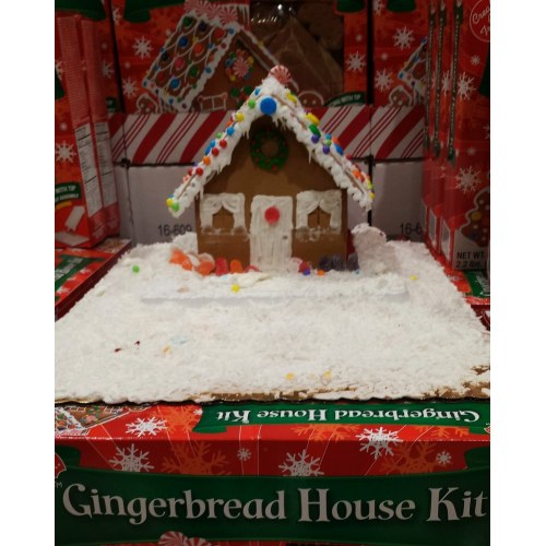 Medium Crop Of Gingerbread House Kit