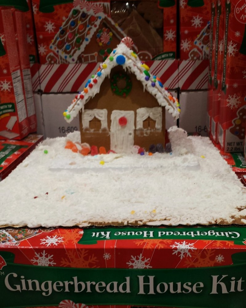 Large Of Gingerbread House Kit