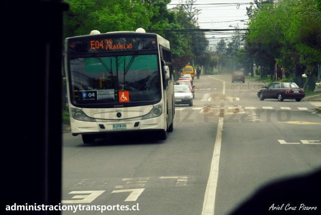 Transantiago E04 | Buses Vule | Caio Mondego H - Mercedes Benz / BJFW38