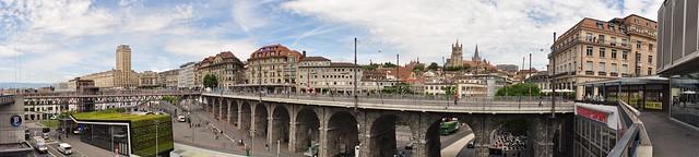 At Laussane. Panorama