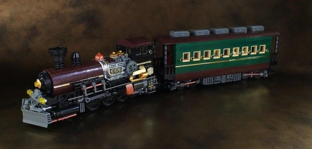 Steampunk Train
