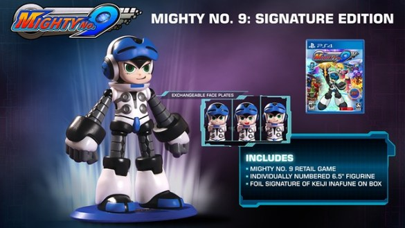 Mighty No. 9 Signature Edition Figure