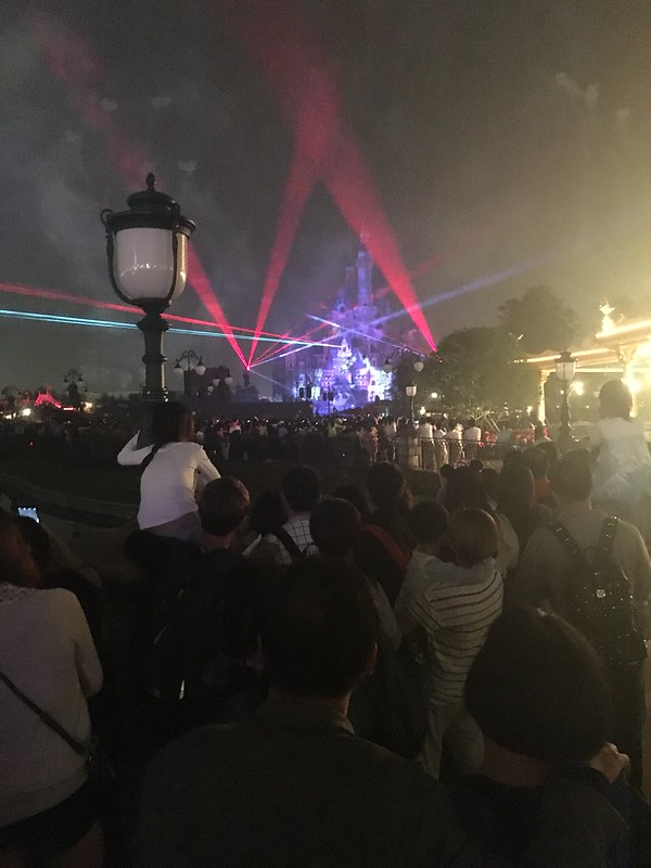 Laser Light Show at Shanghai Disneyland