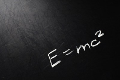 E=mc2 | Conceptual phrase written on school board by chalk. … | Flickr