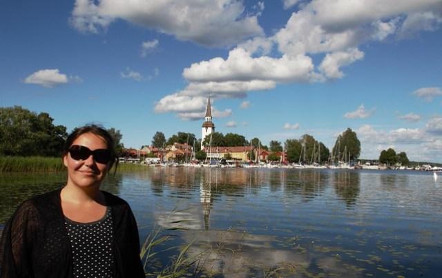 Mariefred in Zweden
