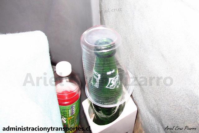 Bebida y frazada | Buses Liquiñe