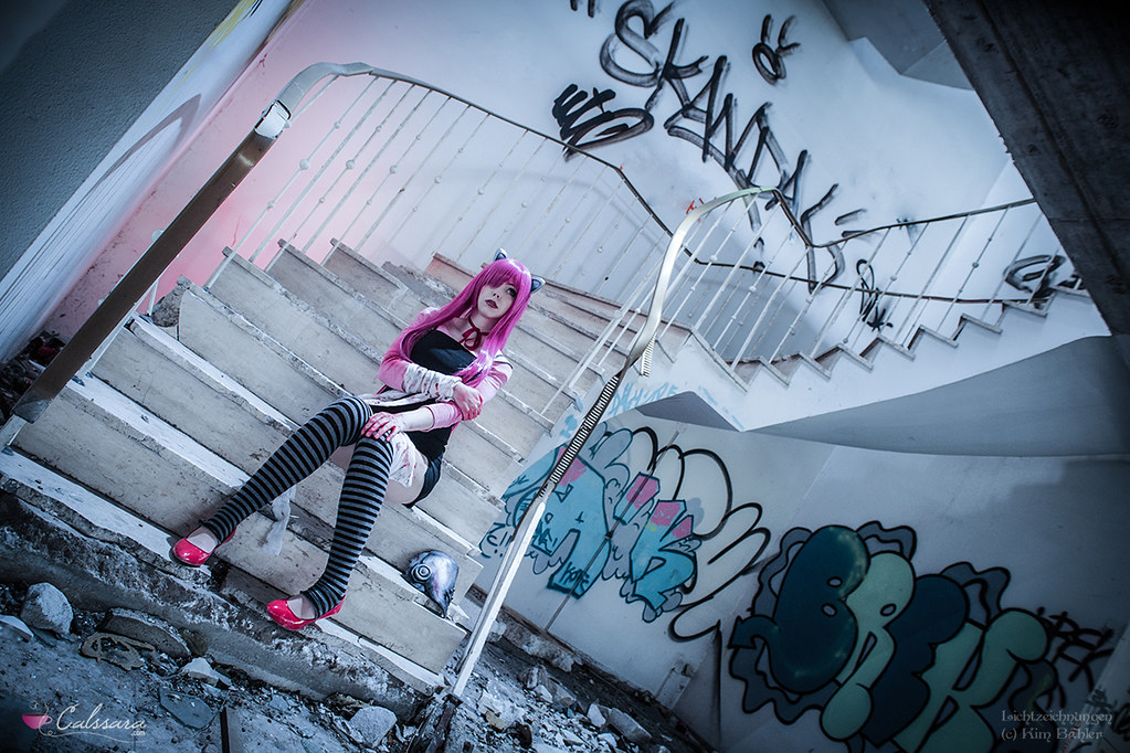 Lucy   Nyuu  Elfen Lied    me as Lucy from Elfen Lied  photo      Flickr     Lucy   Nyuu  Elfen Lied    by Calssara