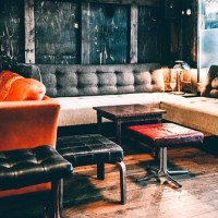 Woodford Reserve Lounge at Sager + Wilde Paradise Row