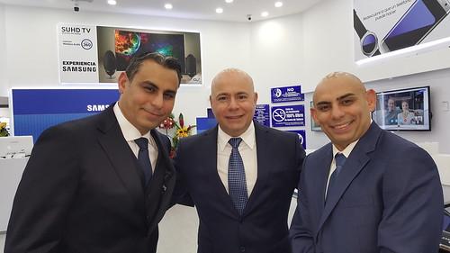 Los hermanos Nasar Dagga, estarán para inaugurar la nueva tienda Sambil Caracas.