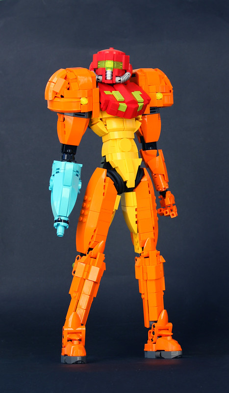 Samus Aran: A LEGO® creation by Andrew Colunga : MOCpages.com