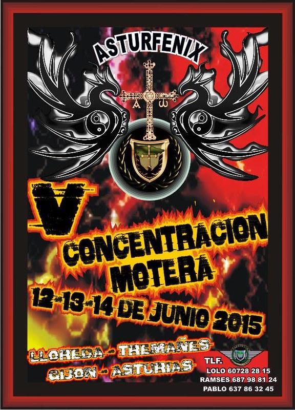 V Concentración Motera Asturfenix - Asturias