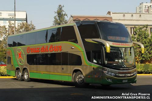 Cruz del Sur - Santiago - Marcopolo Paradiso 1800 DD / Volvo (GTVB11)