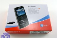 Samsung BlackJack II unboxing - Image 1 of 10
