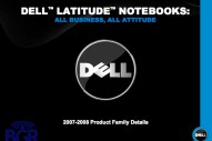 Dell Latitude 2008-2009 roadmap - Image 4 of 10